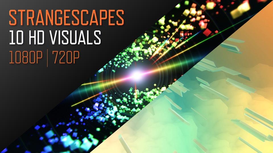 Live Visuals / VJ Loops - Strangescapes